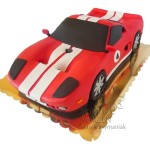 Tort 3D auto Ford GT