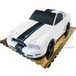 Tort 3D Ford Mustang